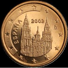 Espanja 2002 1 c UNC