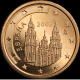 Espanja 2002 2 c UNC