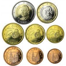 Espanja 2003 1 c – 2 € Irtokolikot UNC