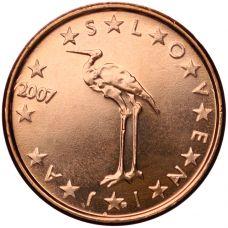 Slovenia 2007 1 c UNC