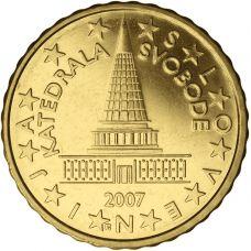 Slovenia 2007 10 c UNC