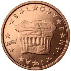 Slovenia 2007 2 c UNC