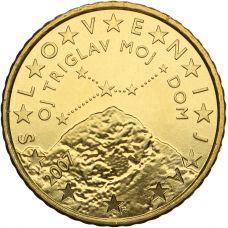 Slovenia 2007 50 c UNC