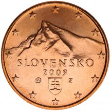 Slovakia 2009 1 c UNC