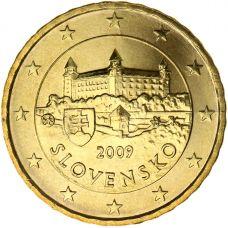 Slovakia 2009 10 c UNC