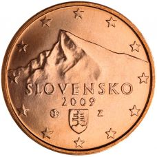 Slovakia 2009 5 c UNC