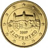 Slovakia 2009 50 c UNC