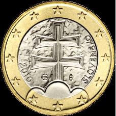 Slovakia 2010 1 € BU