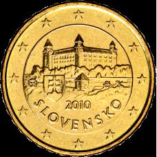 Slovakia 2010 10 c BU