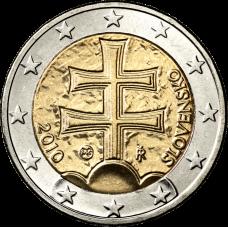 Slovakia 2010 2 € BU