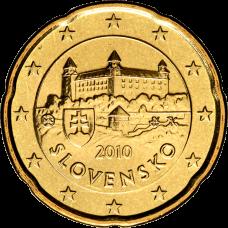 Slovakia 2010 20 c BU