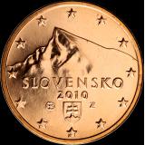 Slovakia 2010 5 c BU