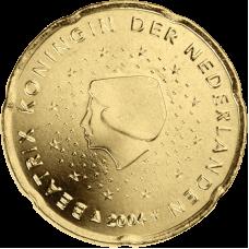 Alankomaat 2000 20 c UNC