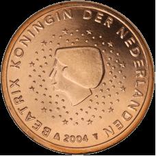Alankomaat 2000 5 c UNC