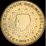 Alankomaat 2000 50 c UNC