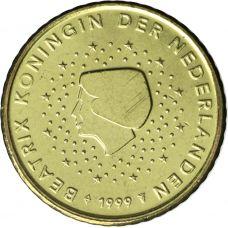 Alankomaat 1999 10 c UNC