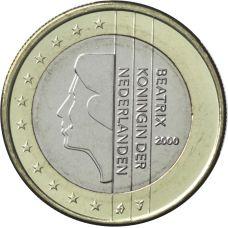 Alankomaat 2000 1 € UNC