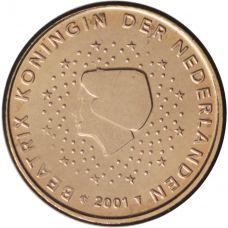 Alankomaat 2001 1 c UNC
