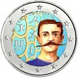 Ranska 2013 2 € Pierre de Coubertin VÄRITETTY