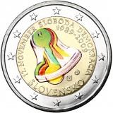 Slovakia 2009 2 € Demokratia VÄRITETTY