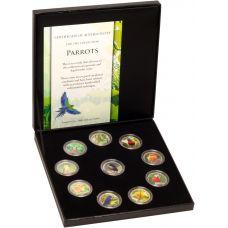 Värikolikkosarja 2013 Colourful Parrots