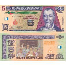 Guatemala 2008 5 Quetzales P116 UNC