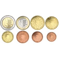 Alankomaat 2013 1 c – 2 € Irtokolikot UNC