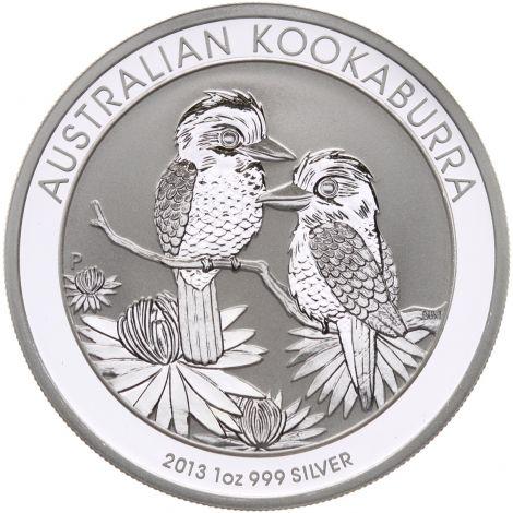 Australia 2013 1 Dollar Kookaburra 1 Unssi HOPEA