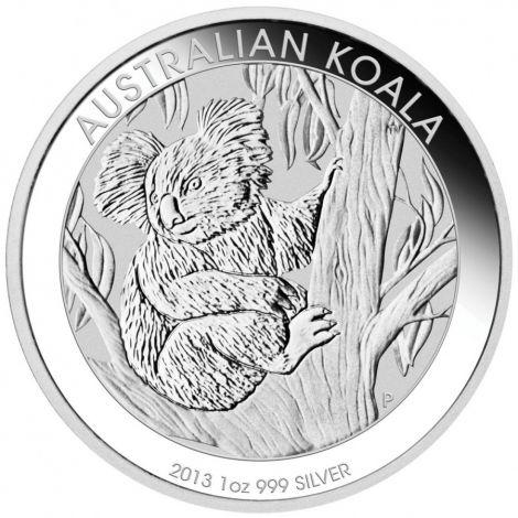 Australia 2013 1 Dollar Koala 1 Unssi HOPEA
