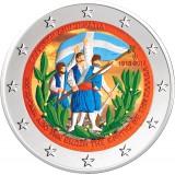 Kreikka 2013 2 € Kreeta VÄRITETTY