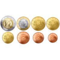 Latvia 2020 1 c - 2 € Irtokolikot BU