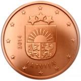 Latvia 2014 1 c UNC