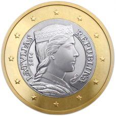Latvia 2014 1 € UNC