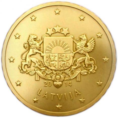 Latvia 2014 10 c UNC