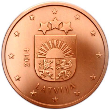 Latvia 2014 2 c UNC