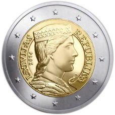 Latvia 2014 2 € UNC