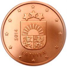 Latvia 2014 5 c UNC