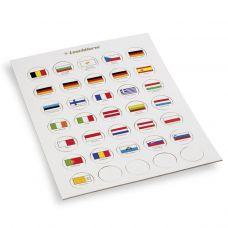 Lippusarja, Leuchtturm EURO flags, 2 € kolikkokapselille (333463)