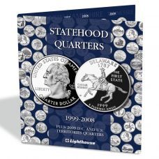 Kolikkokansio, Leuchtturm PRESSO USA Statehood Quarters (341626)
