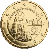 Portugali 2013 2 € Torre dos Clérigos KULLATTU