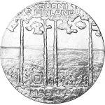 Suomi 1975 10 Markkaa Presidentti Kekkonen 75 vuotta BU