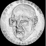 Suomi 1981 50 Markkaa Urho Kekkosen presidenttikauden 25-vuotisjuhlaraha BU