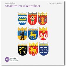 Suomi 2013 Maakuntien rakennukset -kokoelmakirja PROOF