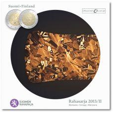 Suomi 2013 Rahasarja II Eurojen osat BU