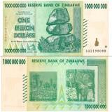 Zimbabwe 2008 1 Billion Dollars P83 UNC