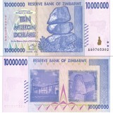 Zimbabwe 2008 10 Million Dollars P78 UNC
