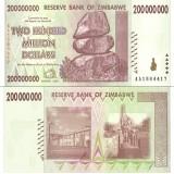 Zimbabwe 2008 200 Million Dollars P81 UNC