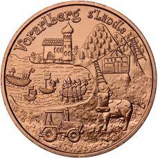 Itävalta 2013 10 € Vorarlberg UNC