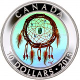 Kanada 2013 10 Dollars Dreamcatcher HOPEA PROOF