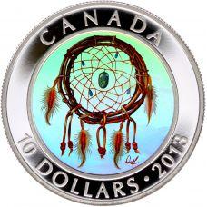 Kanada 2013 10 Dollars Dreamcatcher HOPEA PROOF